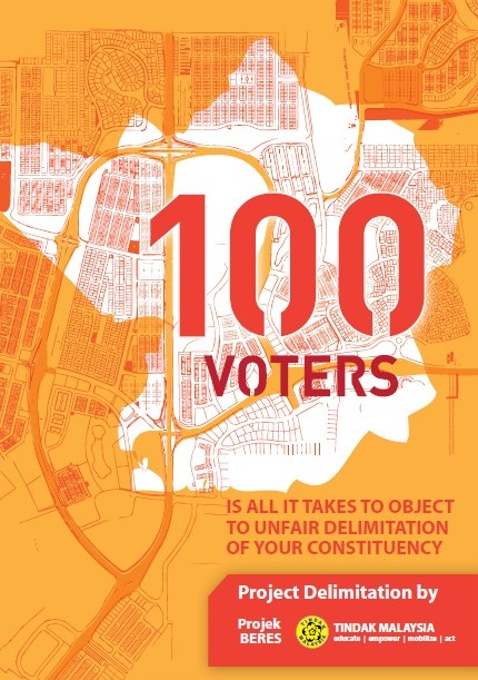 Calling for 100 objectors for every constituency